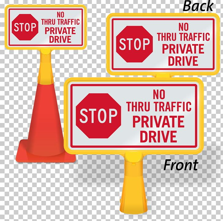 Traffic Sign Stop Sign Private Property No Outlet Signage
