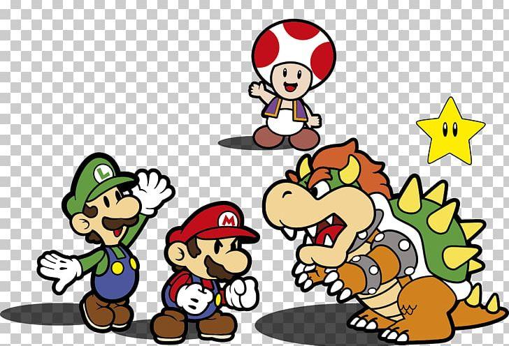 Super Mario Bros Mario Luigi Superstar Saga Bowser Png