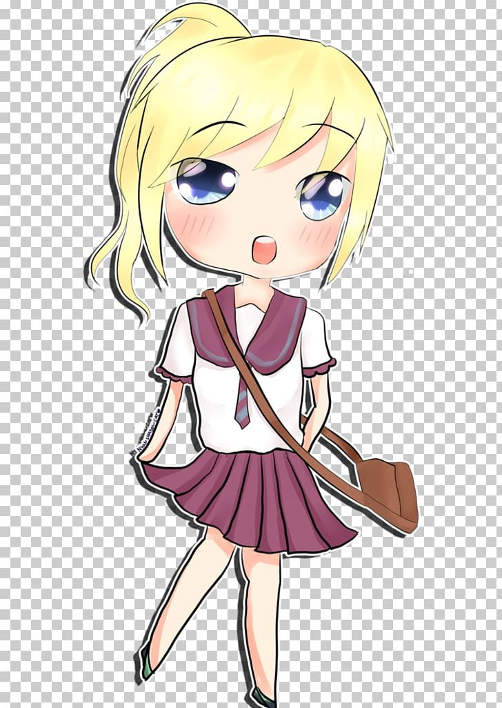 Anime Chibi Girl Drawing Mangaka Png Clipart Adult Anime