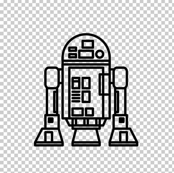 R2 D2 Luke Skywalker Drawing Coloring Book Line Art Png