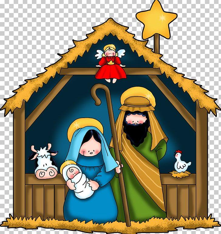 Advent nativity. Christmas and holiday season