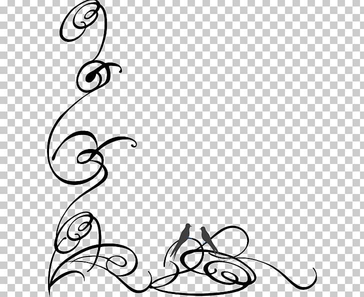 PNG, Clipart, Area, Black, Black And White, Border Swirls