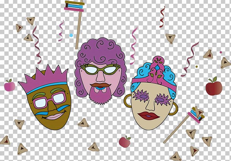 Purim Jewish Holiday PNG, Clipart, Animation, Cartoon, Holiday, Jewish, Purim Free PNG Download