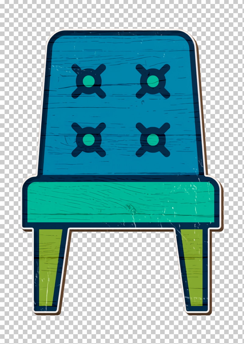 Chair Icon Interiors Icon PNG, Clipart, Chair, Chair Icon, Electric Blue, Furniture, Green Free PNG Download
