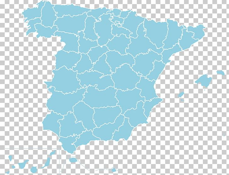 Provinces Of Spain Map The Color Run™ By Skittles PNG ...