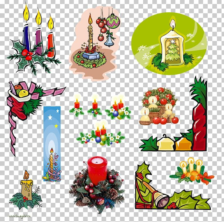Christmas Tree Gift Candle Png Clipart Art Candle Christmas Decoration Decor Drawing Free Png Download