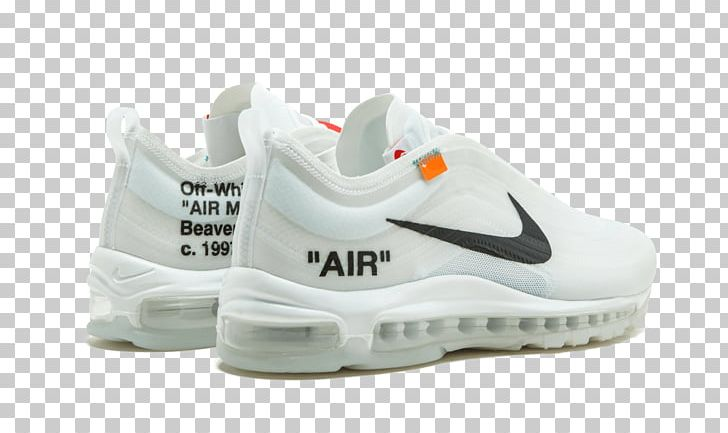 Nike Air Max 97 Sneakers Off White UNDEFEATED PNG, Clipart