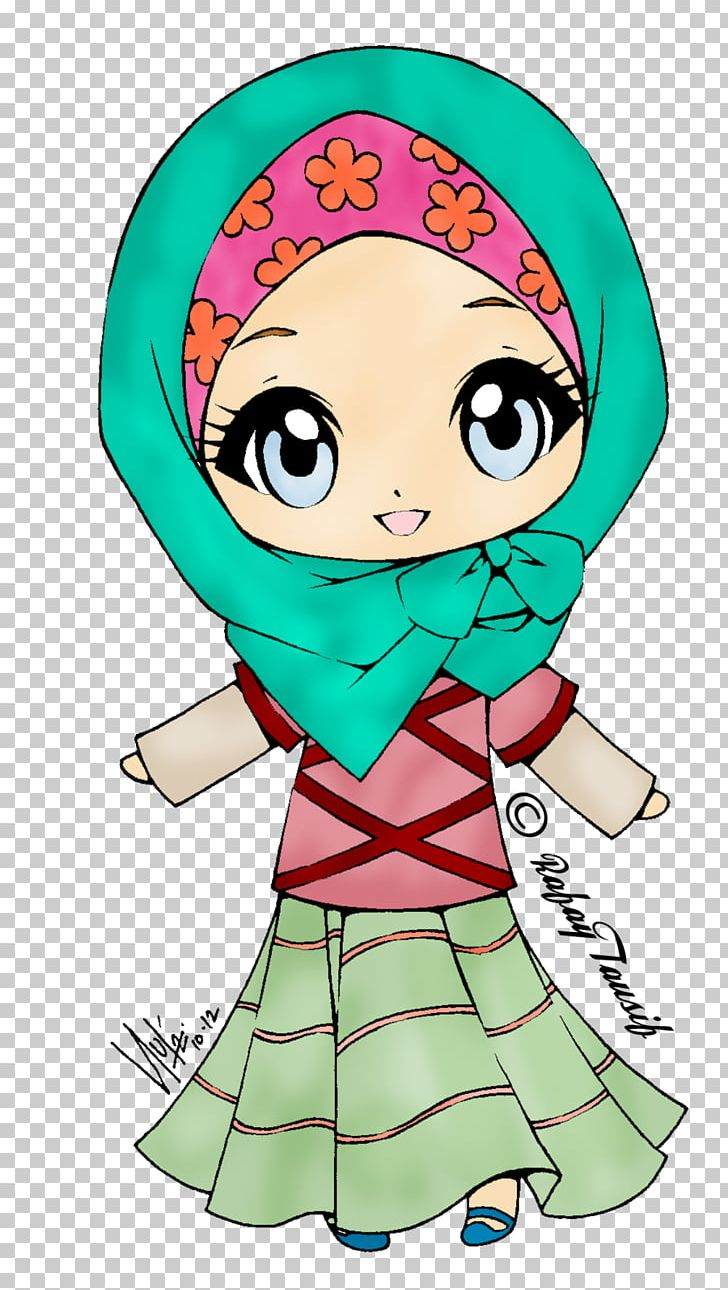 Islam Muslim Girl Hijab Png, Clipart, Art, Boy, Cartoon -4664