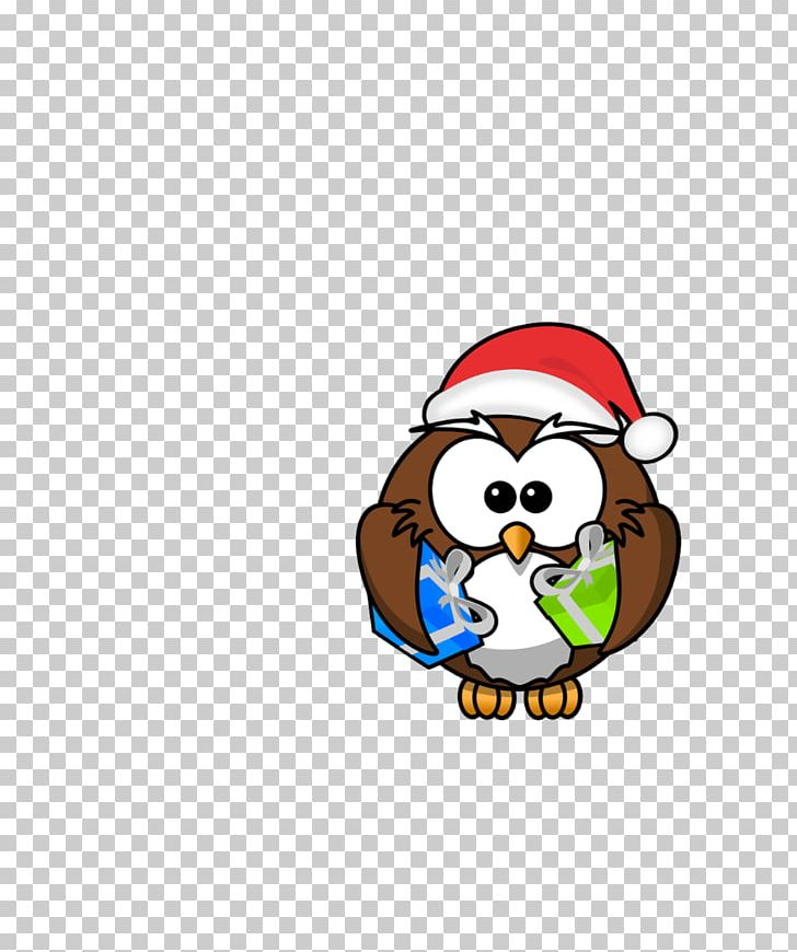 Santa Claus Owl Christmas PNG, Clipart, Aud, Bag, Bird, Carnivoran, Cartoon Free PNG Download