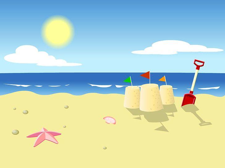 Cartoon clouds beach. Png clipart animation calm