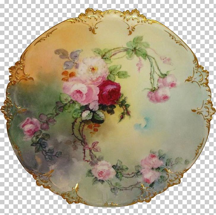 Limoges Porcelain Plate Limoges Porcelain Platter PNG