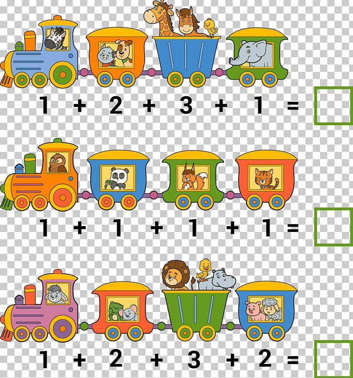 Addition Counting Mathematics Illustration PNG, Clipart