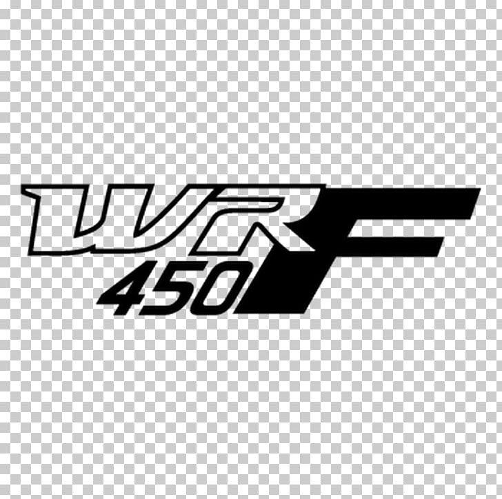 Yamaha Motor Company Logo Yamaha Wr450f Sticker Motorcycle Png Clipart Angle Area Black Black And White