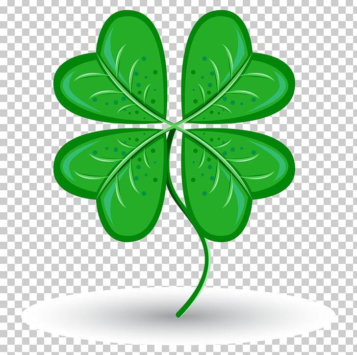 Saint Patricks Day Four-leaf Clover Symbol Luck PNG, Clipart, 4 Leaf Clover, Clover, Clover Border, Clover Leaf, Clovers Free PNG Download