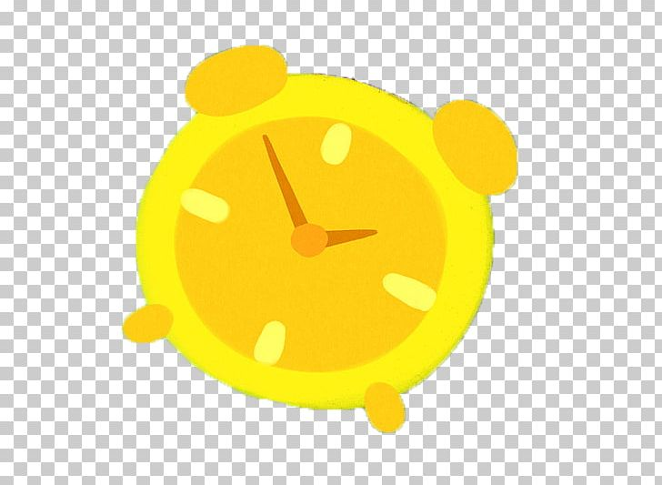 Alarm Clock Yellow PNG, Clipart, Alarm, Alarm Clock, Animal, Animation, Balloon Cartoon Free PNG Download