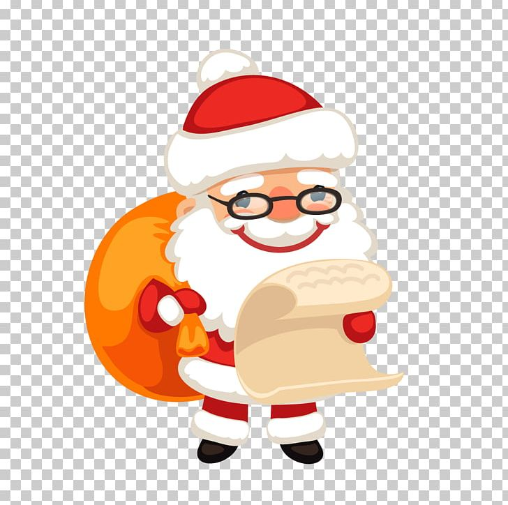 Santa Claus Christmas Ornament Gift PNG, Clipart, Art, Bag Vector, Cartoon, Cartoon Santa Claus, Christmas Free PNG Download