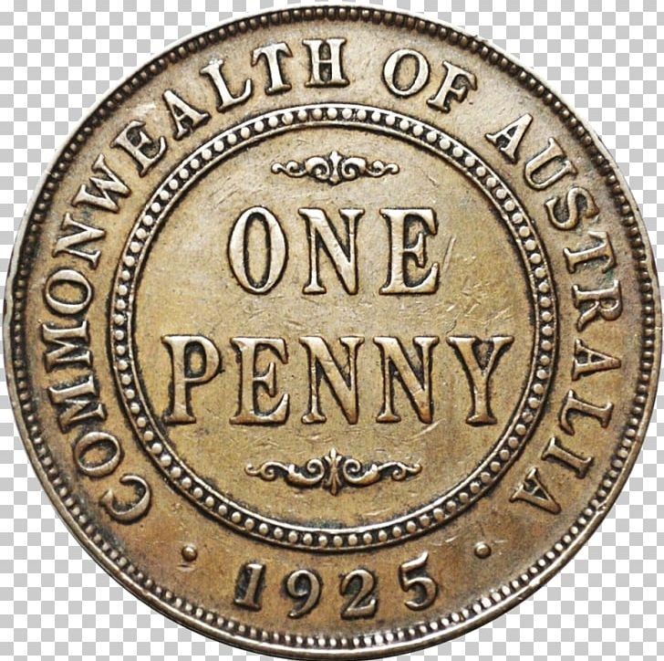 Coin Penny Lincoln Cent Value Obverse And Reverse PNG
