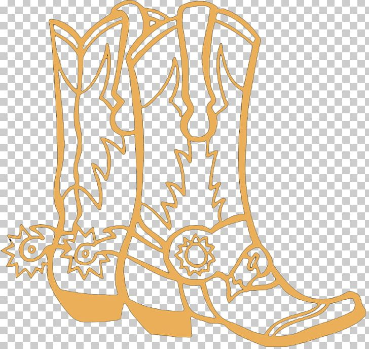 Colouring Pages Coloring Book Cowboy Boot Png Clipart