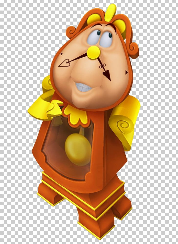 Kingdom Hearts II Kingdom Hearts 358/2 Days Kingdom Hearts χ Kingdom Hearts: Chain Of Memories Cogsworth PNG, Clipart, Art, Beast, Beauty The Beast, Belle, Cartoons Free PNG Download