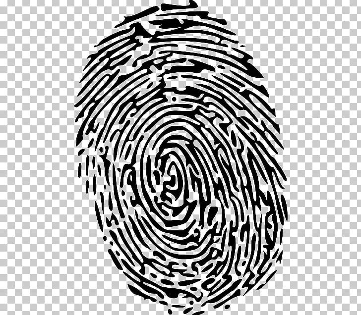 Fingerprint Open Forensic Science Png Clipart Area Black And White Circle Computer Icons Diagram Free Png