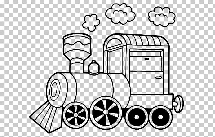 Train Rail Transport Steam Locomotive Drawing PNG, Clipart