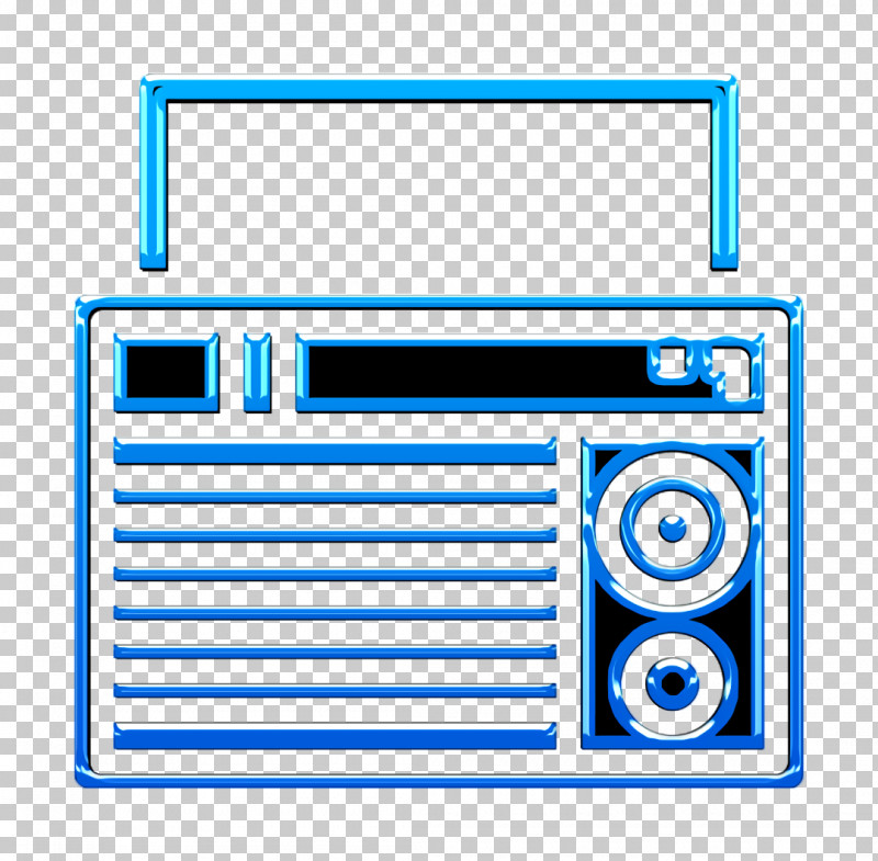 Radio Icon Electronic Device Icon PNG, Clipart, Electric Blue, Electronic Device Icon, Radio Icon, Technology Free PNG Download
