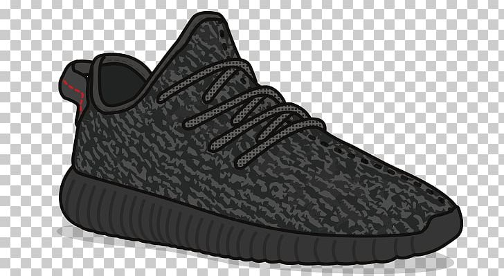 Adidas Yeezy Sneakers Drawing Shoe Sticker PNG, Clipart