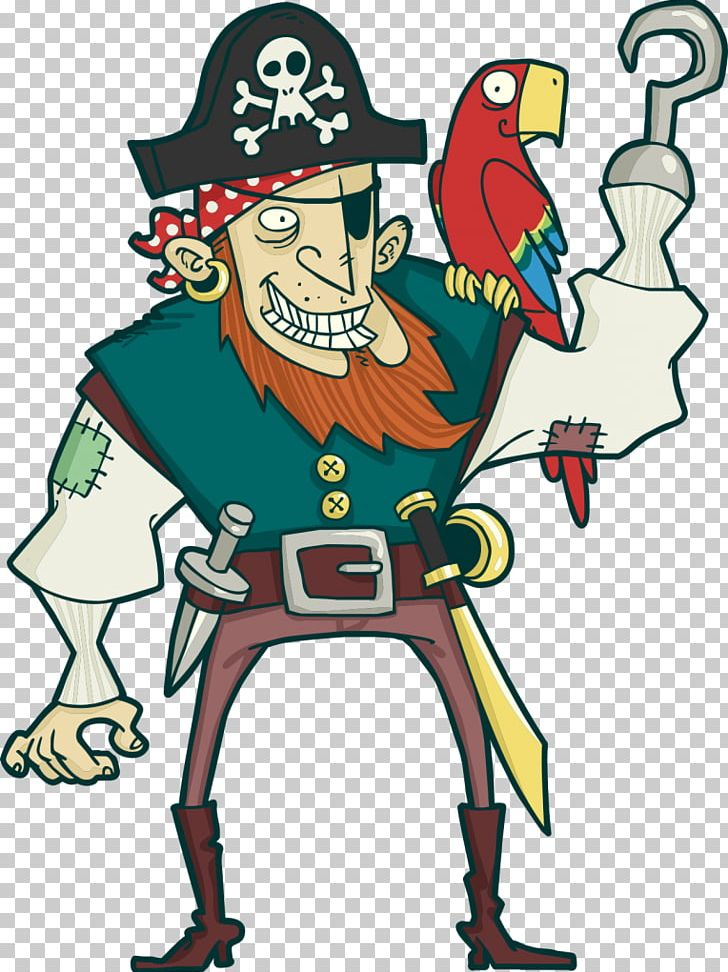 Parrot Piracy PNG, Clipart, Animals, Art, Artwork, Cartoon, Drawing Free PNG Download