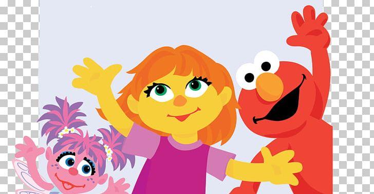Elmo Abby Cadabby Sesame Place Big Bird Julia Png Clipart