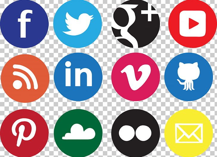 Social Media Social Network Icon Design Icon PNG, Clipart, Area, Brand, Circle, Communication, Facebook Free PNG Download