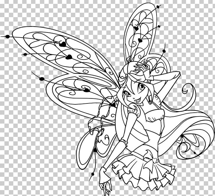 Kleurplaten Winx Club Sirenix.Winx Club Believix In You Bloom Drawing Kleurplaat Winx