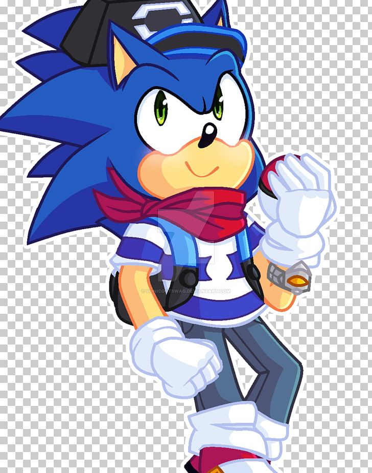 Sonic The Hedgehog Character Png Clipart Art Artwork Cartoon Character Deviantart Free Png Download