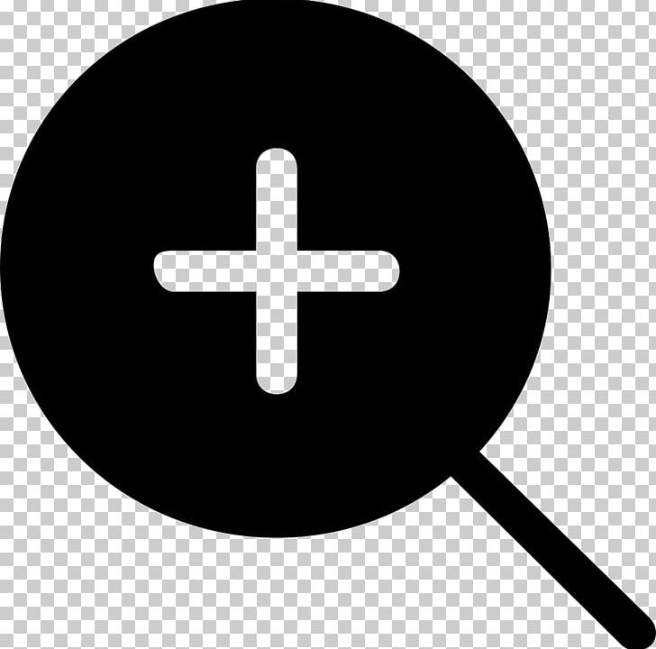 Plus And Minus Signs Computer Icons Magnifying Glass PNG, Clipart, Black And White, Computer Icons, Line, Loupe, Magnification Free PNG Download