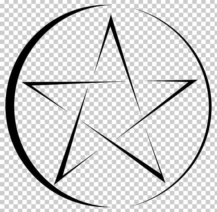 Pentagram Pentacle Symbol PNG, Clipart, Angle, Area, Black, Black And White, Black Magic Free PNG Download