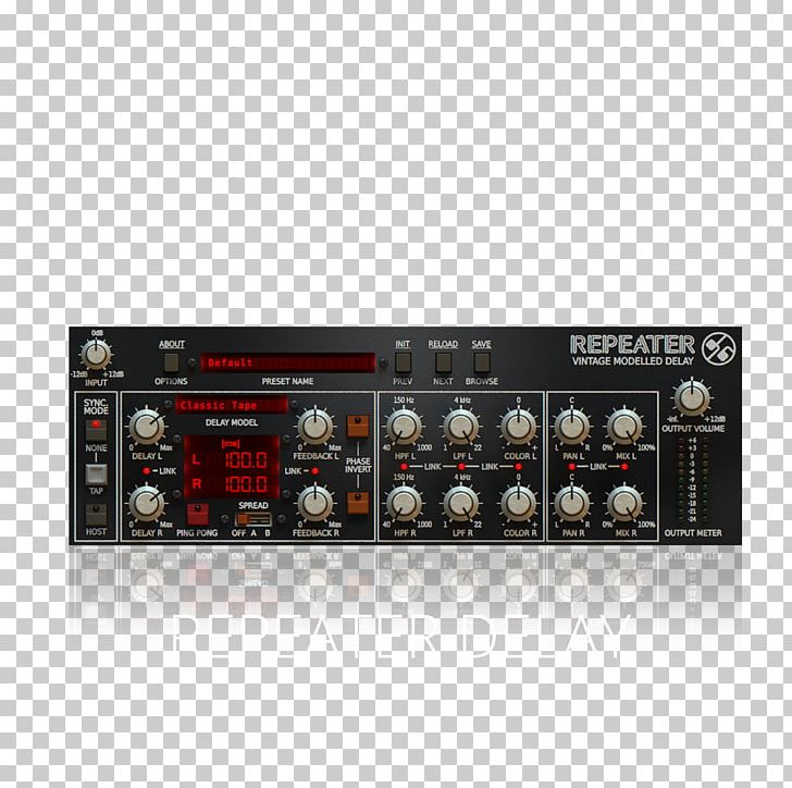 Plug-in Delay Repeater Drumazon KVR Audio PNG, Clipart, Analogue