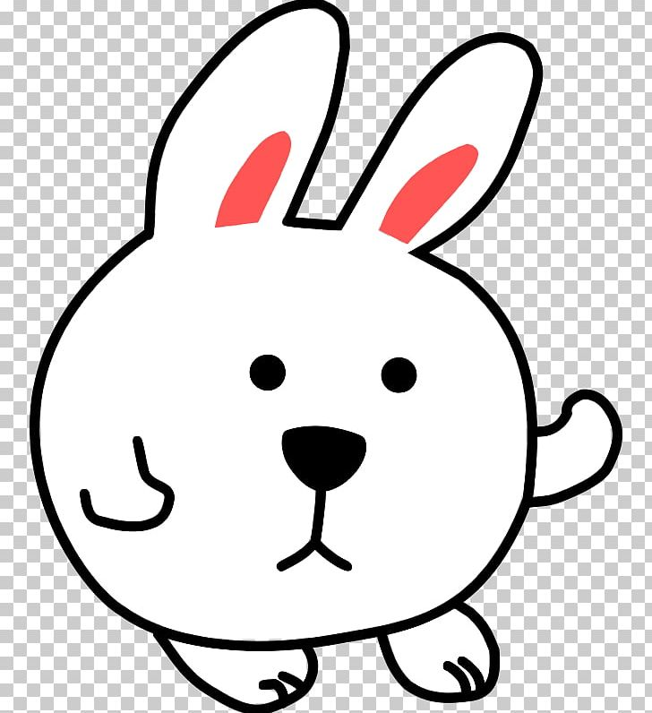 Domestic Rabbit Hare PNG, Clipart, Animals, Area, Art, Black And White, Cartoon Free PNG Download