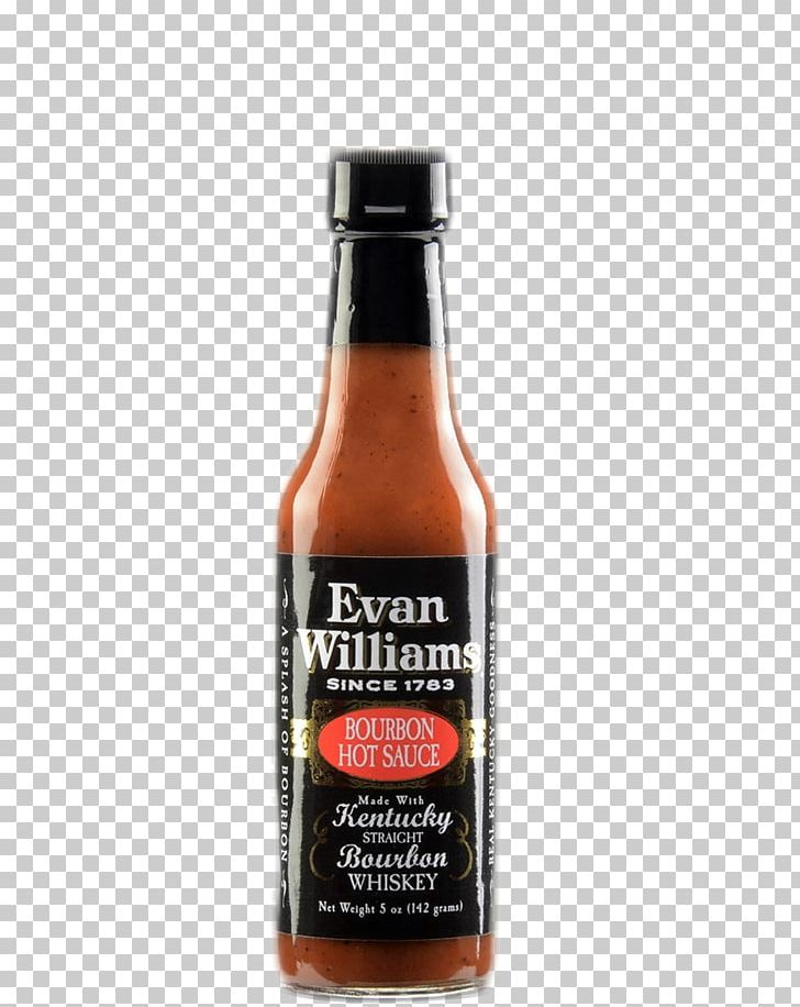 Bourbon Whiskey Hot Sauce Evan Williams PNG, Clipart, Bottle, Bourbon, Bourbon Whiskey, Condiment, Evan Williams Free PNG Download