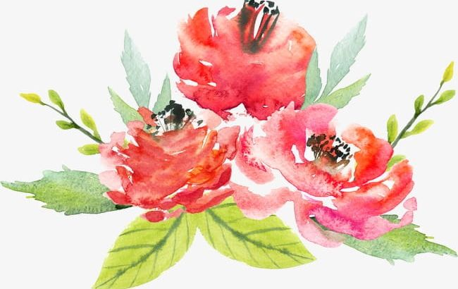Watercolor Flowers PNG, Clipart, Abstract, Art, Backgrounds, Bouquet, Close Up Free PNG Download