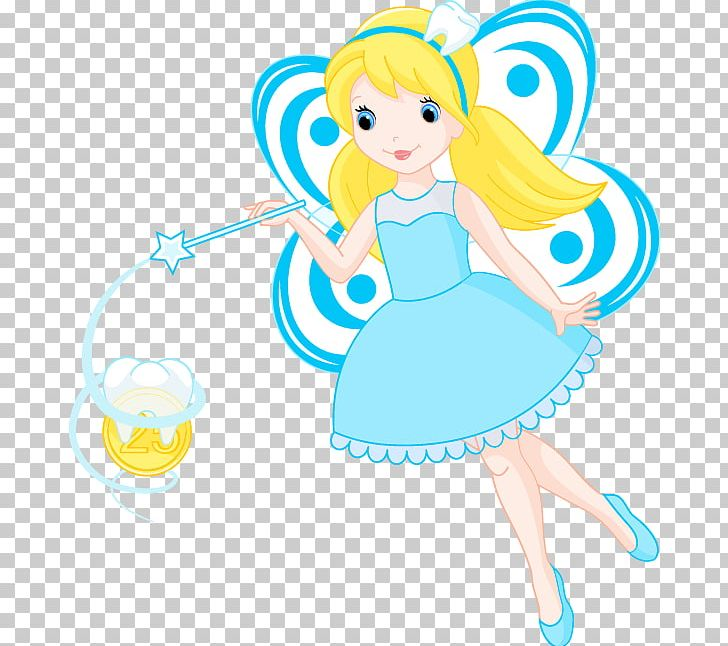 Fairy blue. Tooth png clipart cartoon
