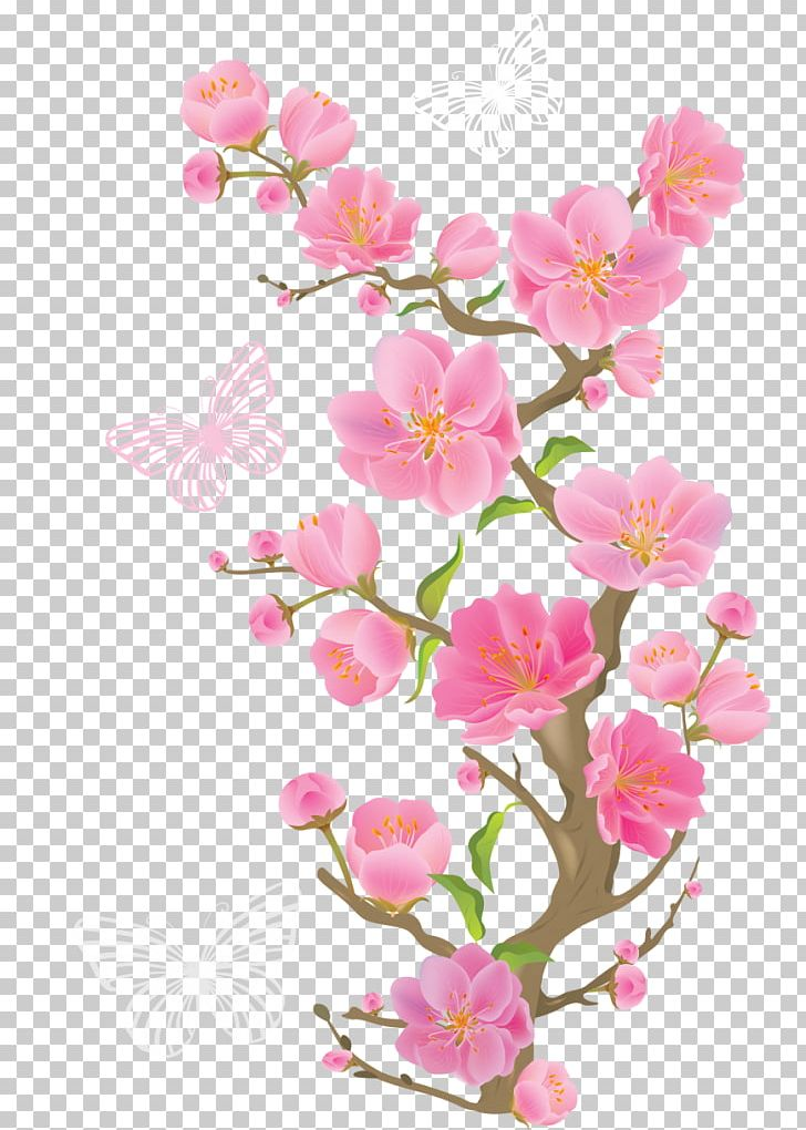 Pink Flowers PNG, Clipart, Blossom, Branch, Butter, Cherry Blossom, Clip Art Free PNG Download