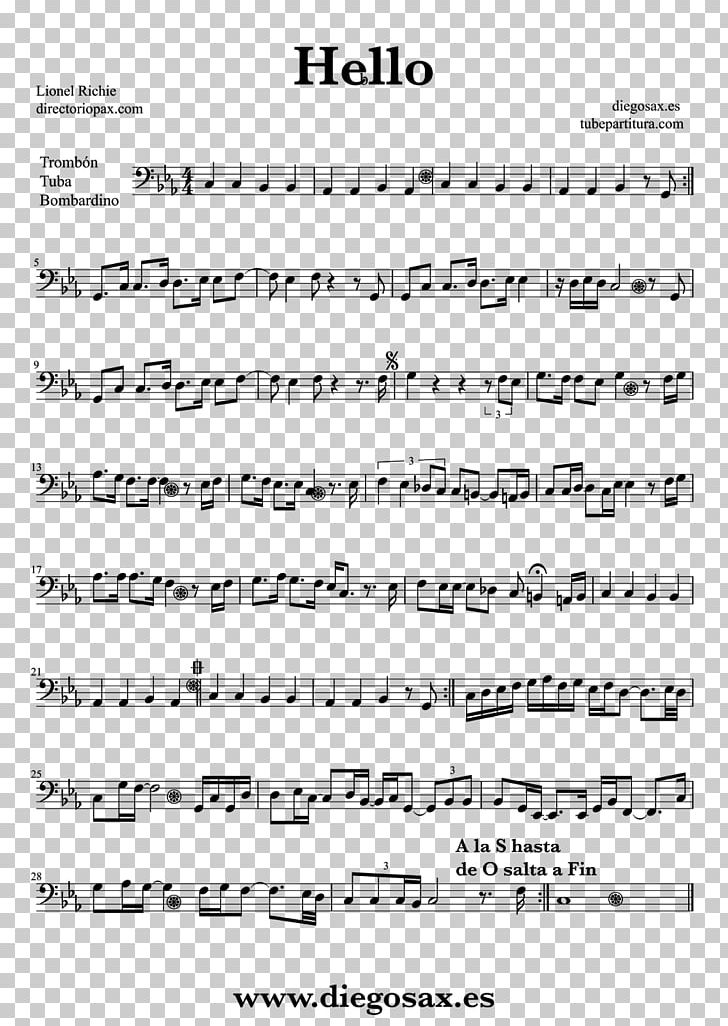 Alto Saxophone Vocalise Sheet Music Libertango PNG, Clipart