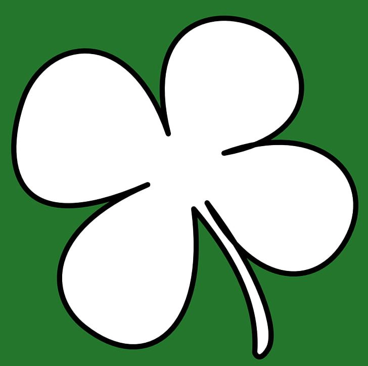 Ireland Shamrock Saint Patricks Day PNG, Clipart, Area, Artwork, Black And White, Circle, Clover Free PNG Download