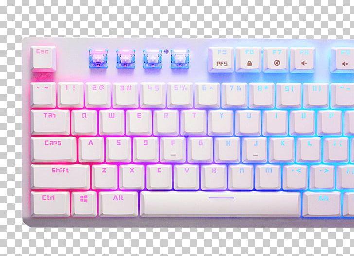 Computer Keyboard Tesoro Gram Spectrum Low Profile G11SFL