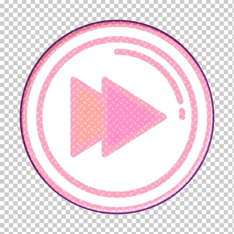 Forward Icon Multimedia Option Icon Movie  Film Icon PNG, Clipart, Circle, Forward Icon, Logo, Magenta, Movie Film Icon Free PNG Download