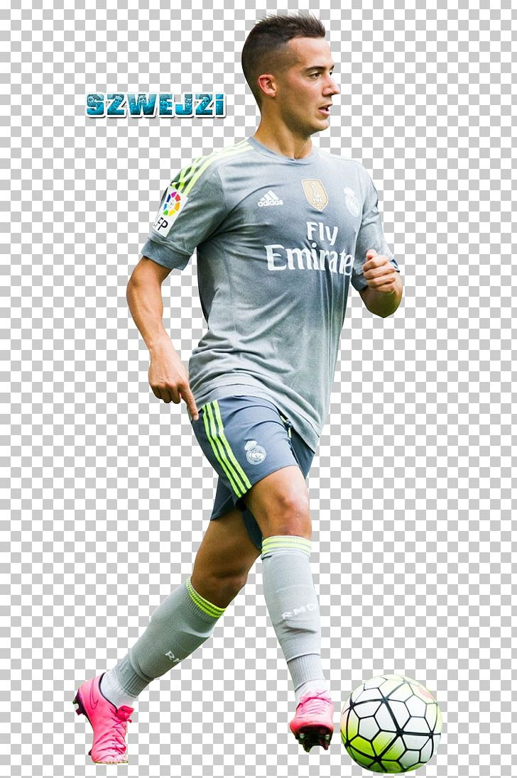 low priced f5758 2b82f Lucas Vázquez Soccer Player Real Madrid C.F. Jersey Team ...