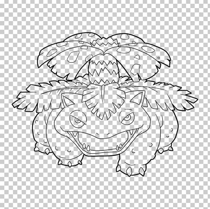Line Art Venusaur Drawing Pokemon Go Bulbasaur Png Clipart