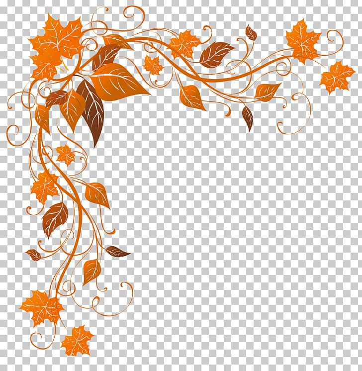 Autumn Leaf Color Stock Photography PNG, Clipart, Art, Autumn, Autumn Leaf Color, Border, Branch Free PNG Download