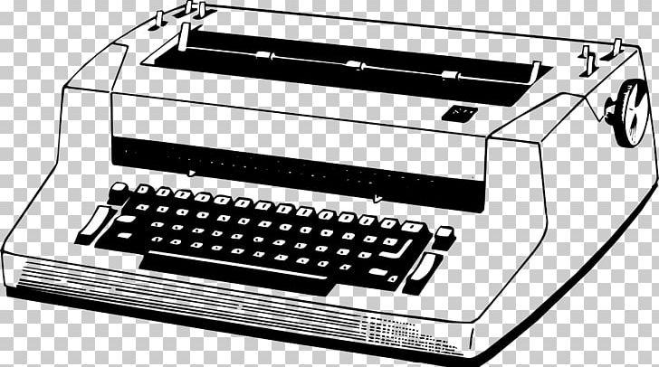Typewriter Printer Electronics PNG, Clipart, 3d Printer, Animal Print, Automotive Exterior, Black And White, Download Free PNG Download
