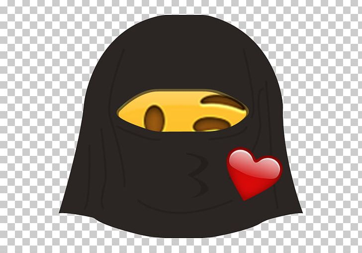 Sticker Emoji Telegram Emoticon Burqa PNG, Clipart, Att, Burqa, Character, Com, Emoji Free PNG Download