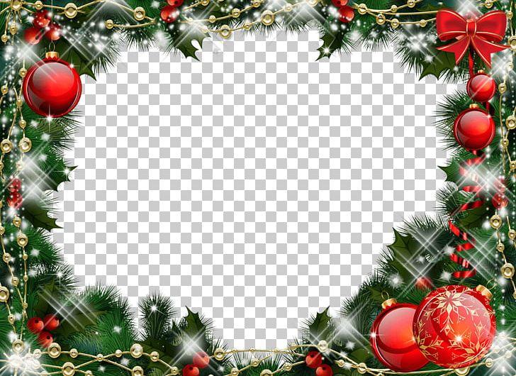 Christmas Frame Balls Mistletoe PNG, Clipart, Christmas, Holidays Free PNG Download